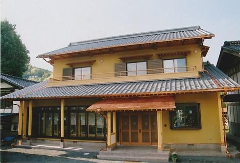 小鹿野町K邸 82坪 本格的和風建築です。