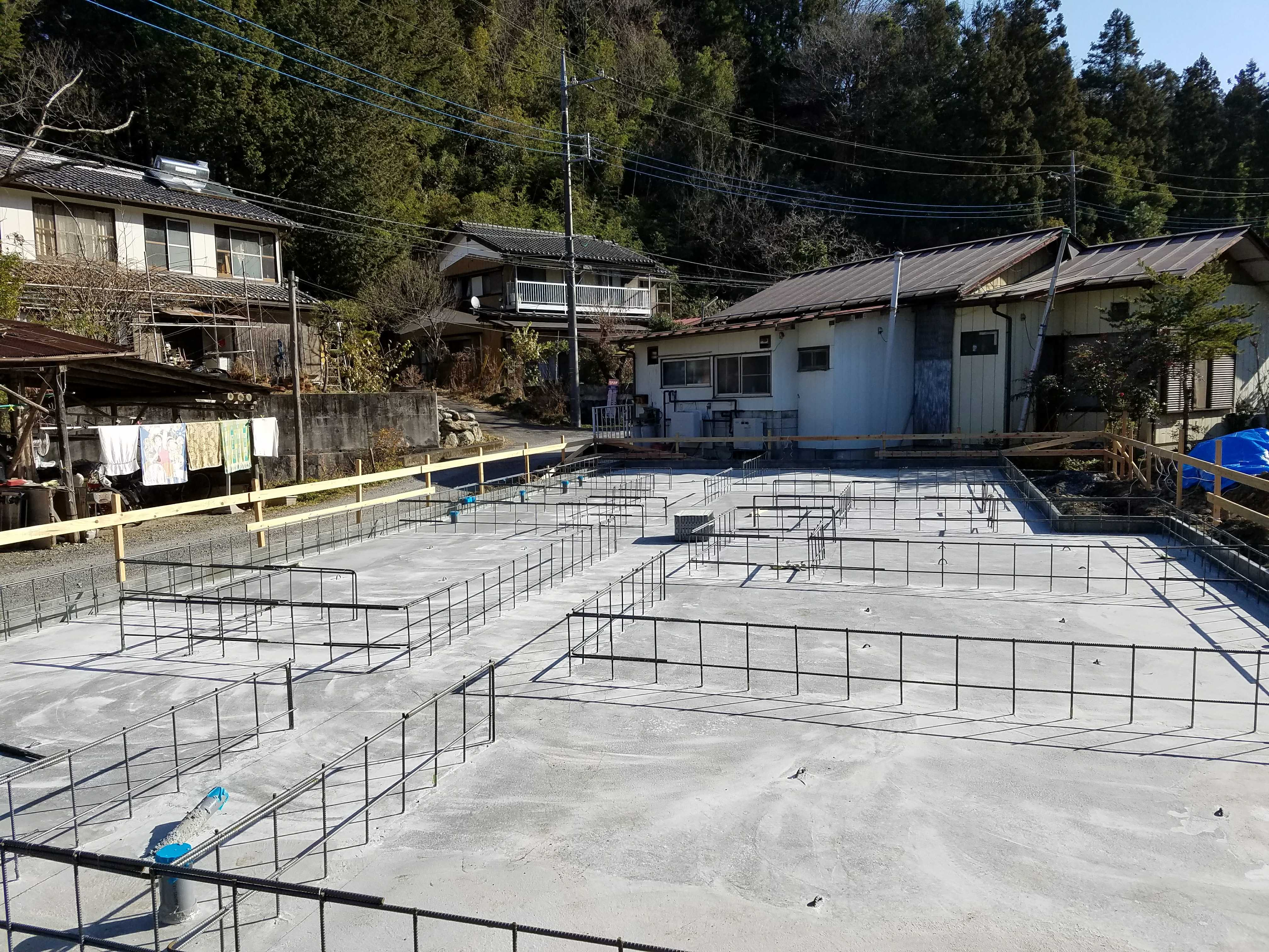 横瀬町T様邸 基礎工事2